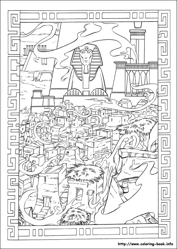 Egypt coloring #3, Download drawings