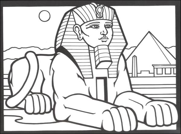 Egypt coloring #18, Download drawings