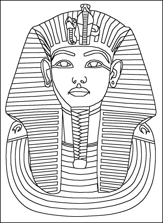 Egyptian coloring #15, Download drawings