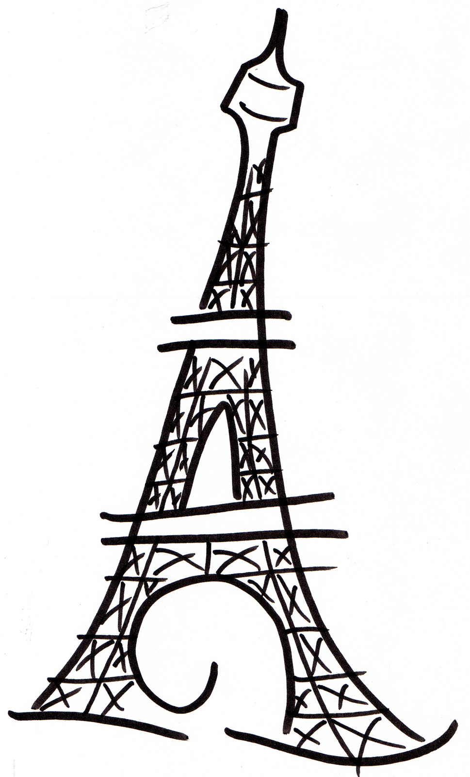 Eiffel Tower clipart #8, Download drawings