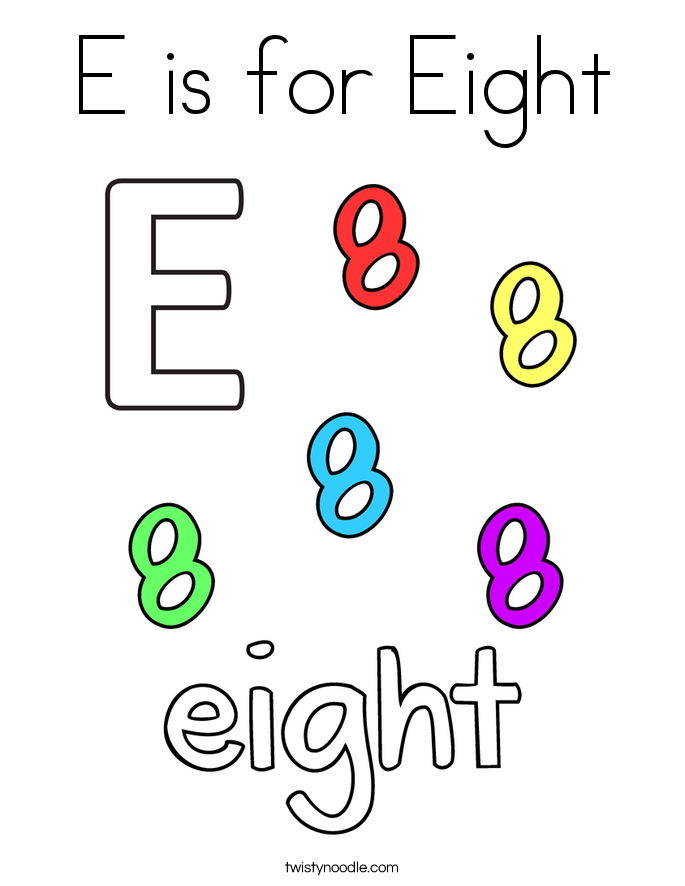 Eight coloring #12, Download drawings