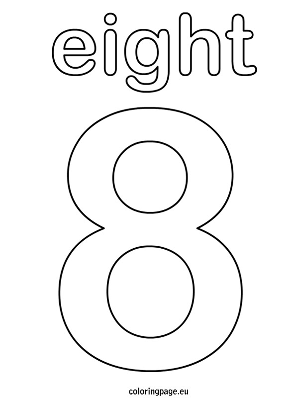 Eight coloring #11, Download drawings
