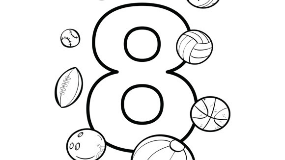 Eight coloring #6, Download drawings