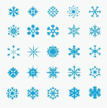 Eiskristalle clipart #13, Download drawings