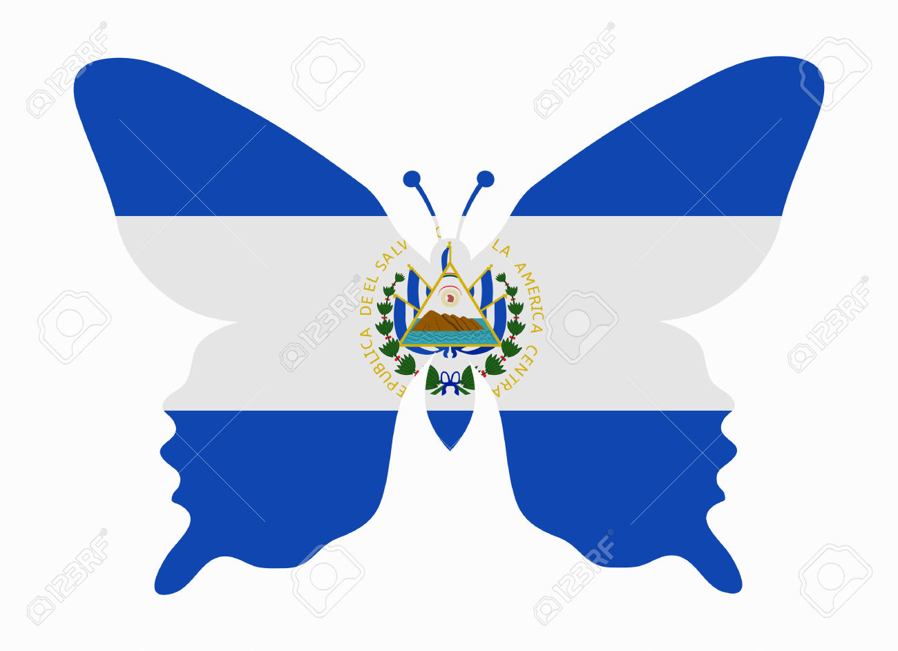 El Salvador clipart #2, Download drawings