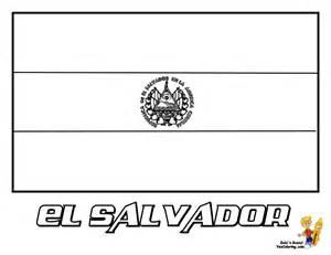 El Salvador coloring #5, Download drawings