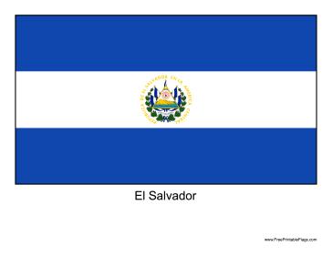 El Salvador coloring #1, Download drawings