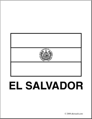 El Salvador coloring #8, Download drawings
