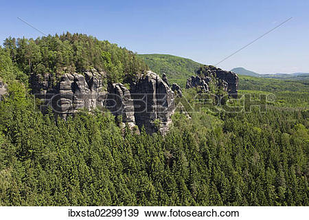 Elbe Sandstone Mountains clipart #1, Download drawings