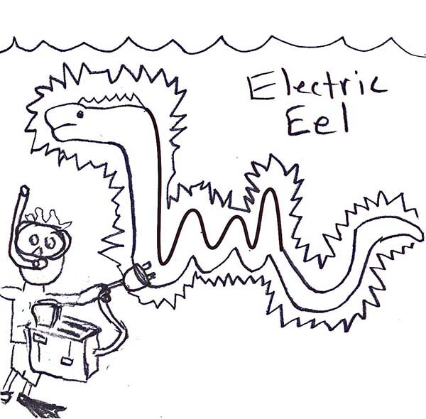 Electric coloring #14, Download drawings