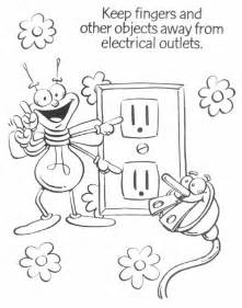 Electricity coloring #14, Download drawings