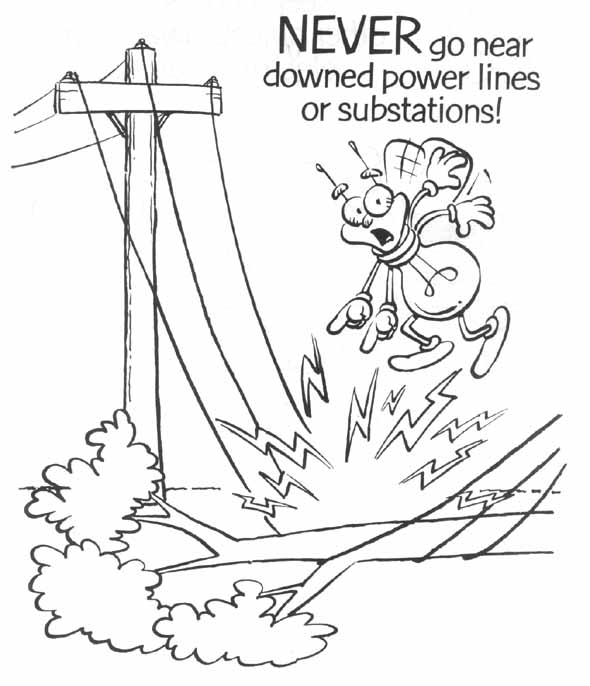 Electricity coloring #18, Download drawings