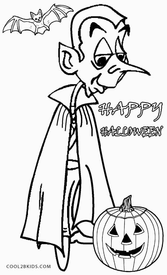 Elegant Vampire coloring #12, Download drawings