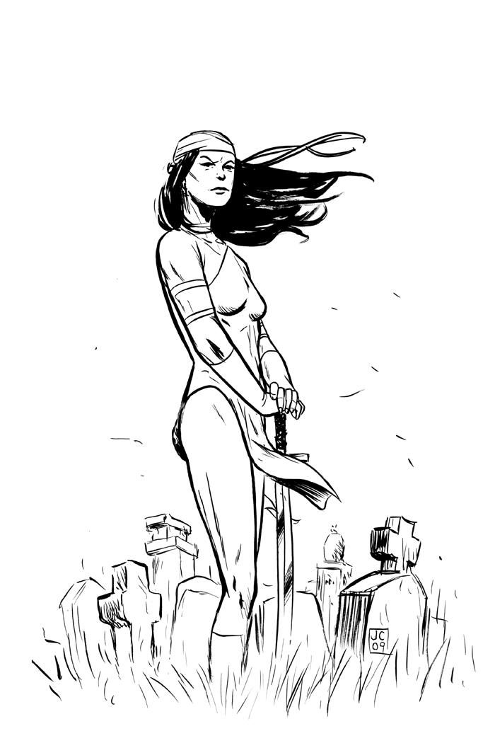 Elektra coloring #10, Download drawings