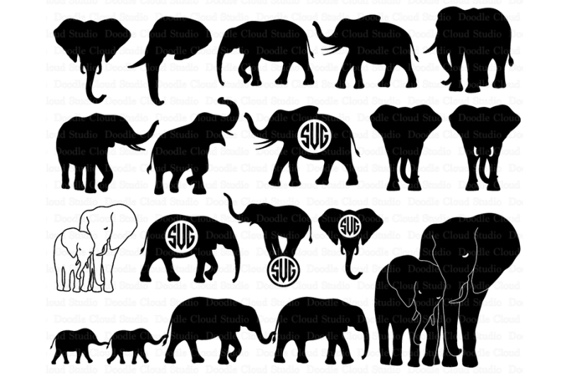 elephant svg free #1049, Download drawings