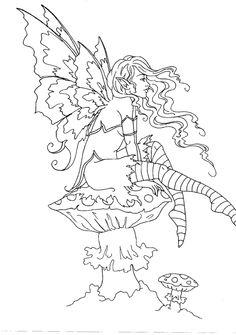Elf Fairy coloring #20, Download drawings