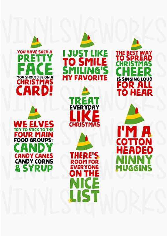 elf movie svg #948, Download drawings