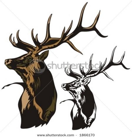 Elk clipart #7, Download drawings
