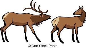 Elk clipart #17, Download drawings