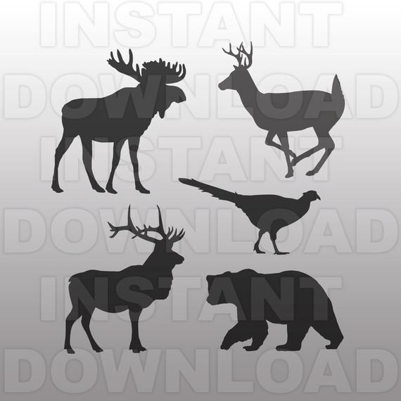 Elk svg #302, Download drawings
