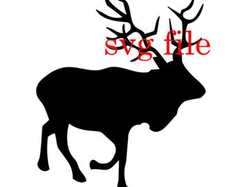 Elk svg #299, Download drawings