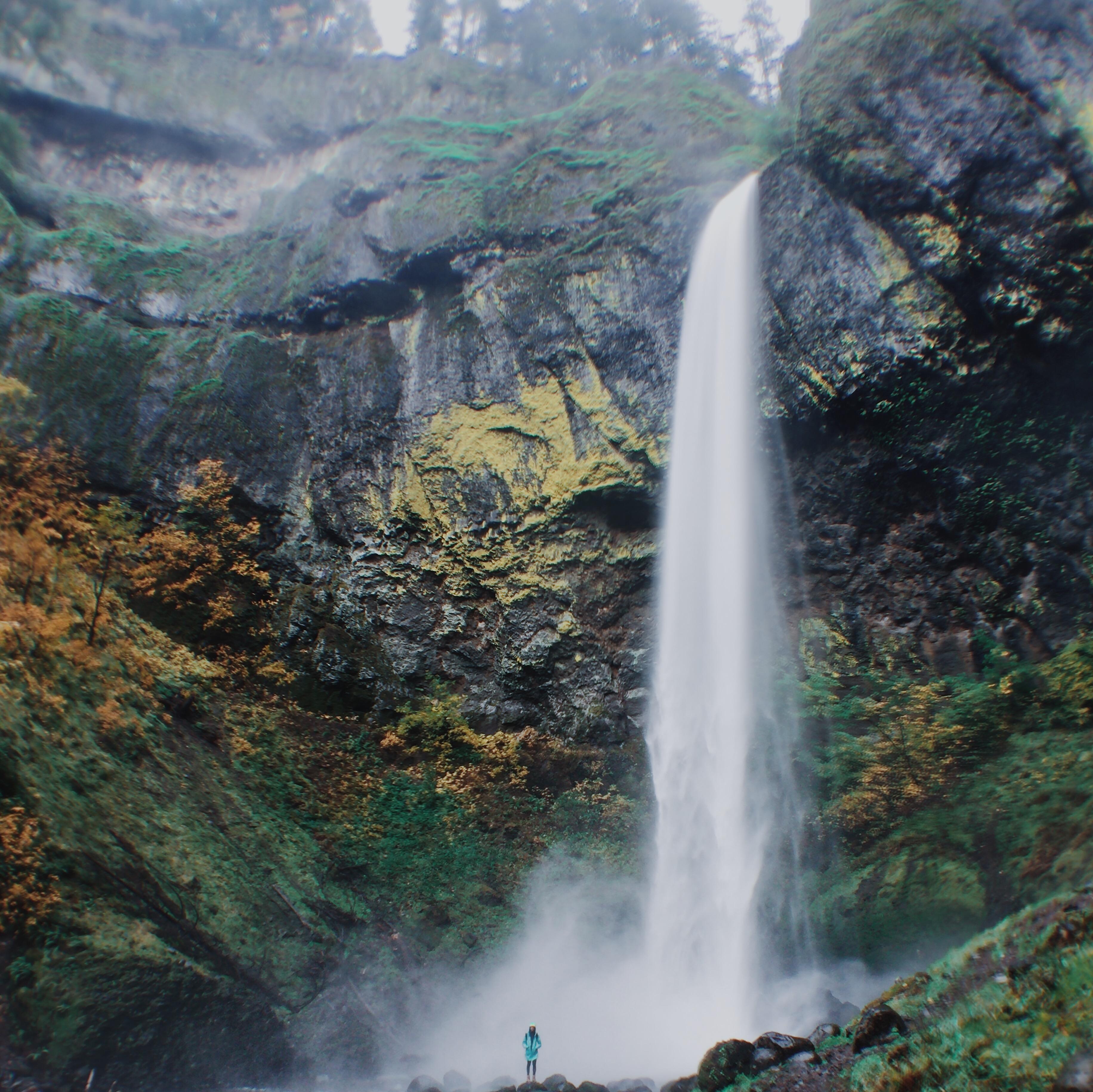 Elowah Falls svg #2, Download drawings