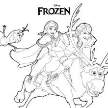 Elsa (Frozen) coloring #12, Download drawings
