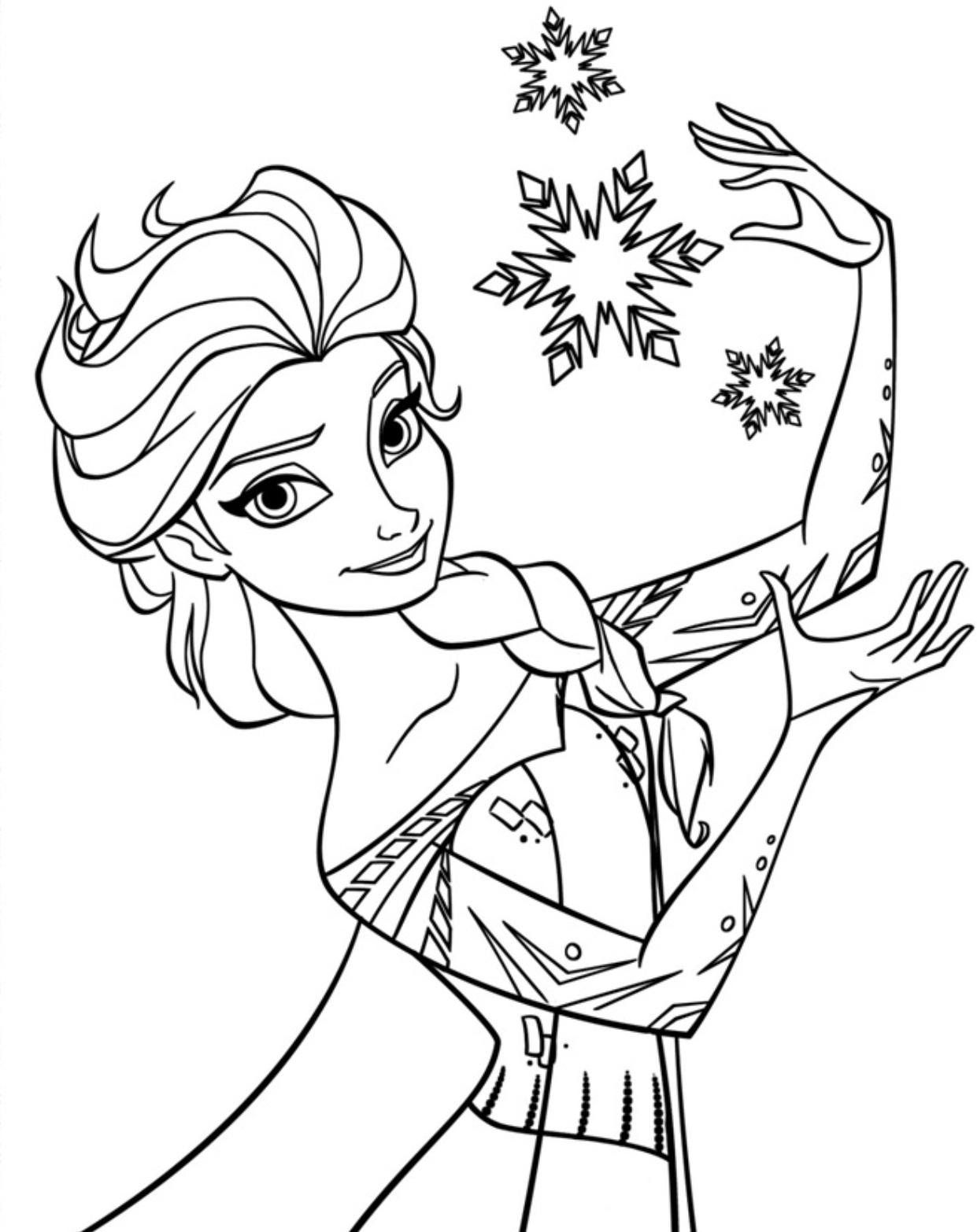 Elsa (Frozen) coloring #17, Download drawings