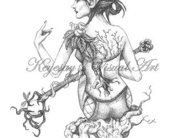 Elven coloring #7, Download drawings