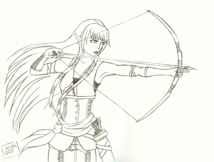 Elvish coloring #8, Download drawings