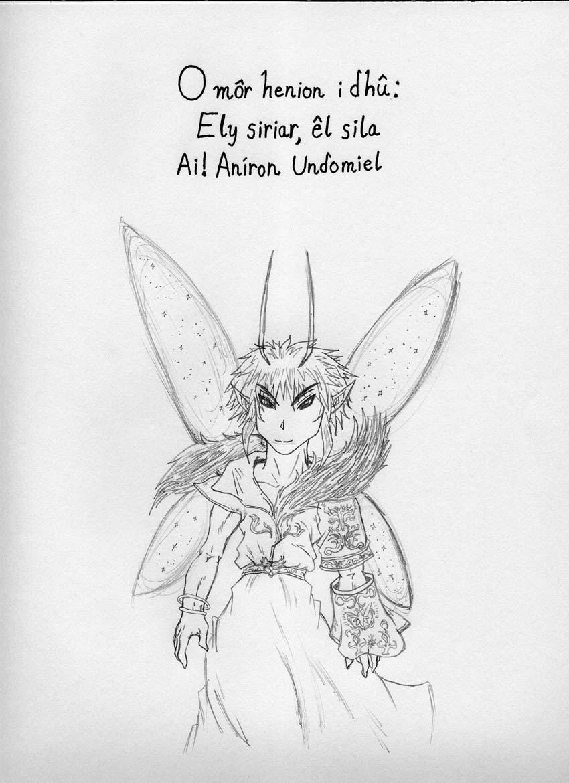 Elvish coloring #5, Download drawings