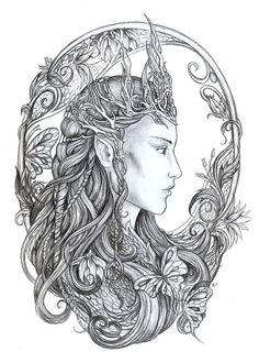 Elvish Love coloring #20, Download drawings