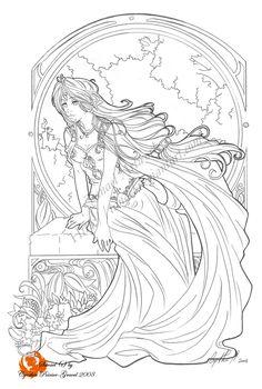 Elvish Love coloring #17, Download drawings