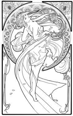 Elvish Love coloring #18, Download drawings