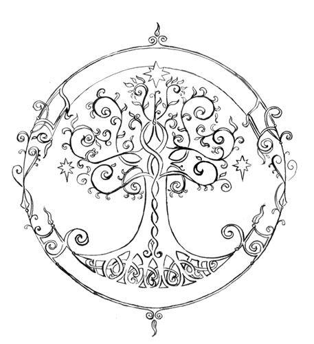 Elvish coloring #19, Download drawings
