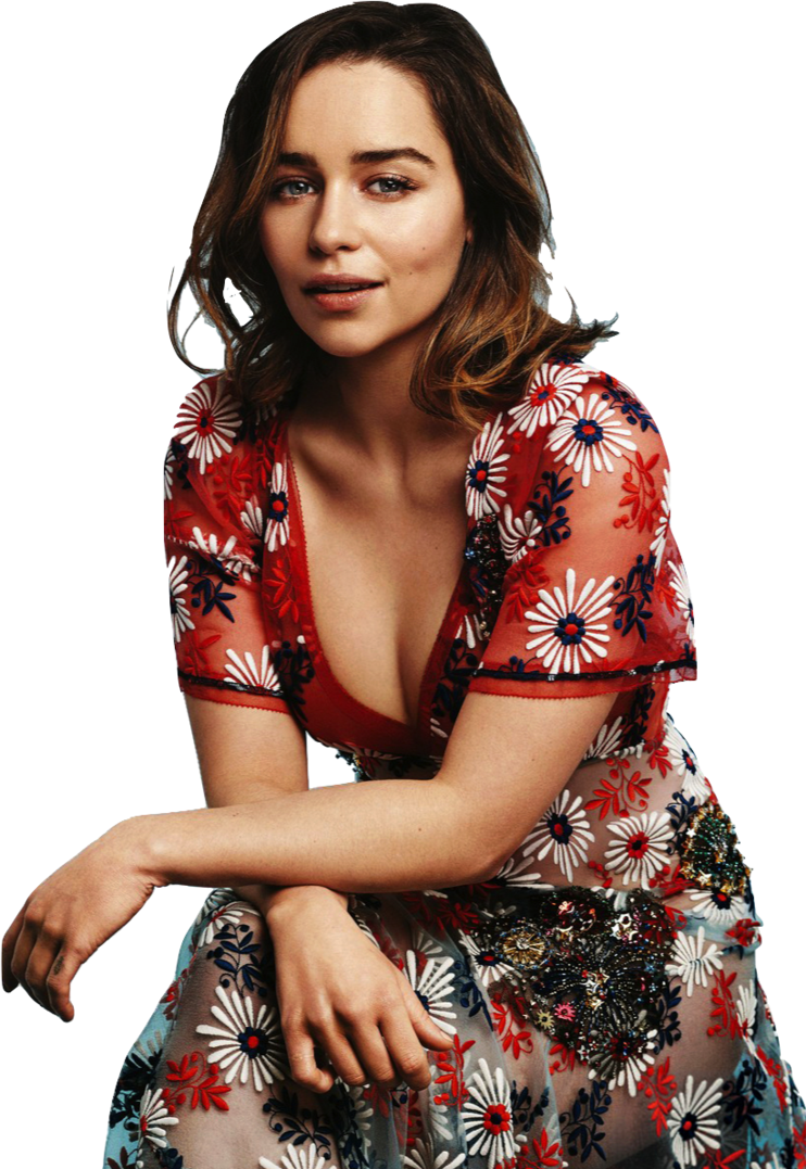 Emilia Clarke clipart #3, Download drawings