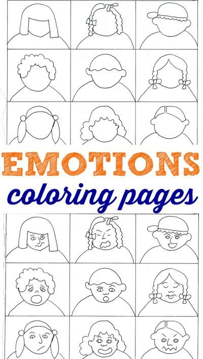 Emotional coloring #3, Download drawings