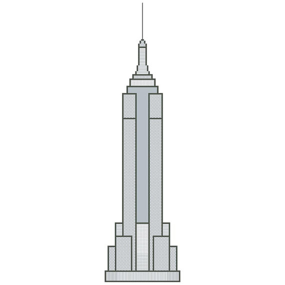 Empire State Building clipart #3, Download drawings