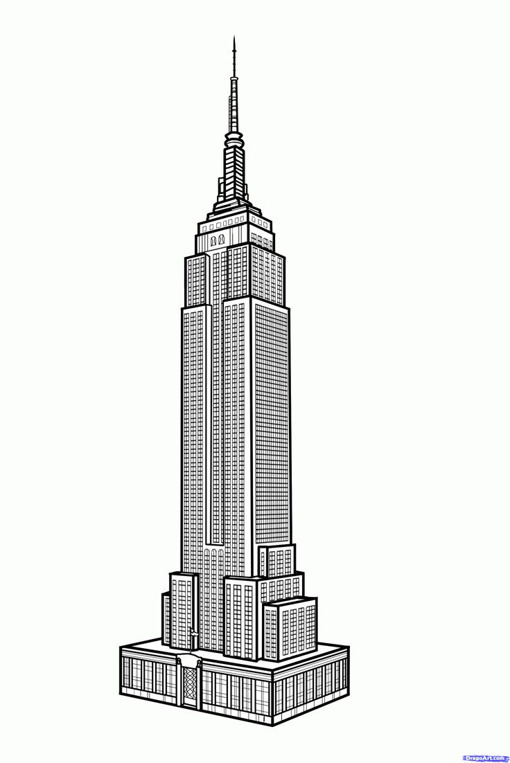 Empire State Building clipart #11, Download drawings