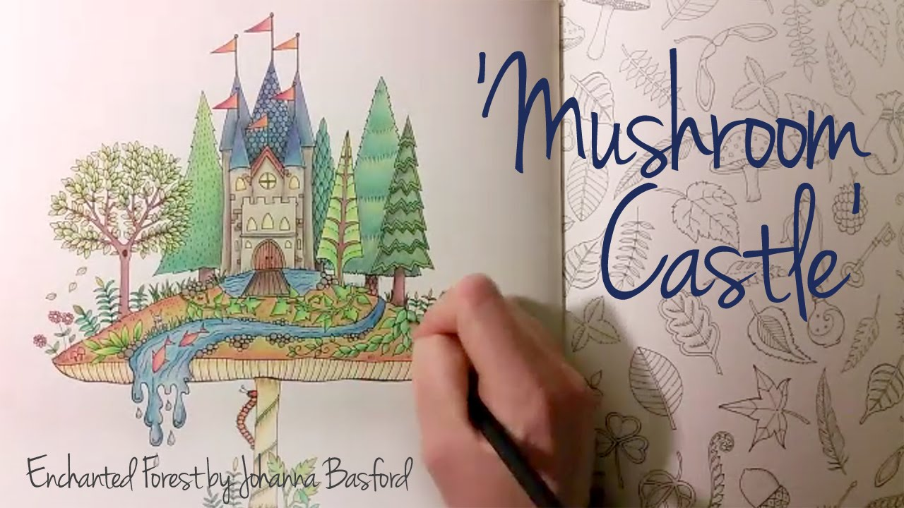 Enchanted Castle coloring #17, Download drawings