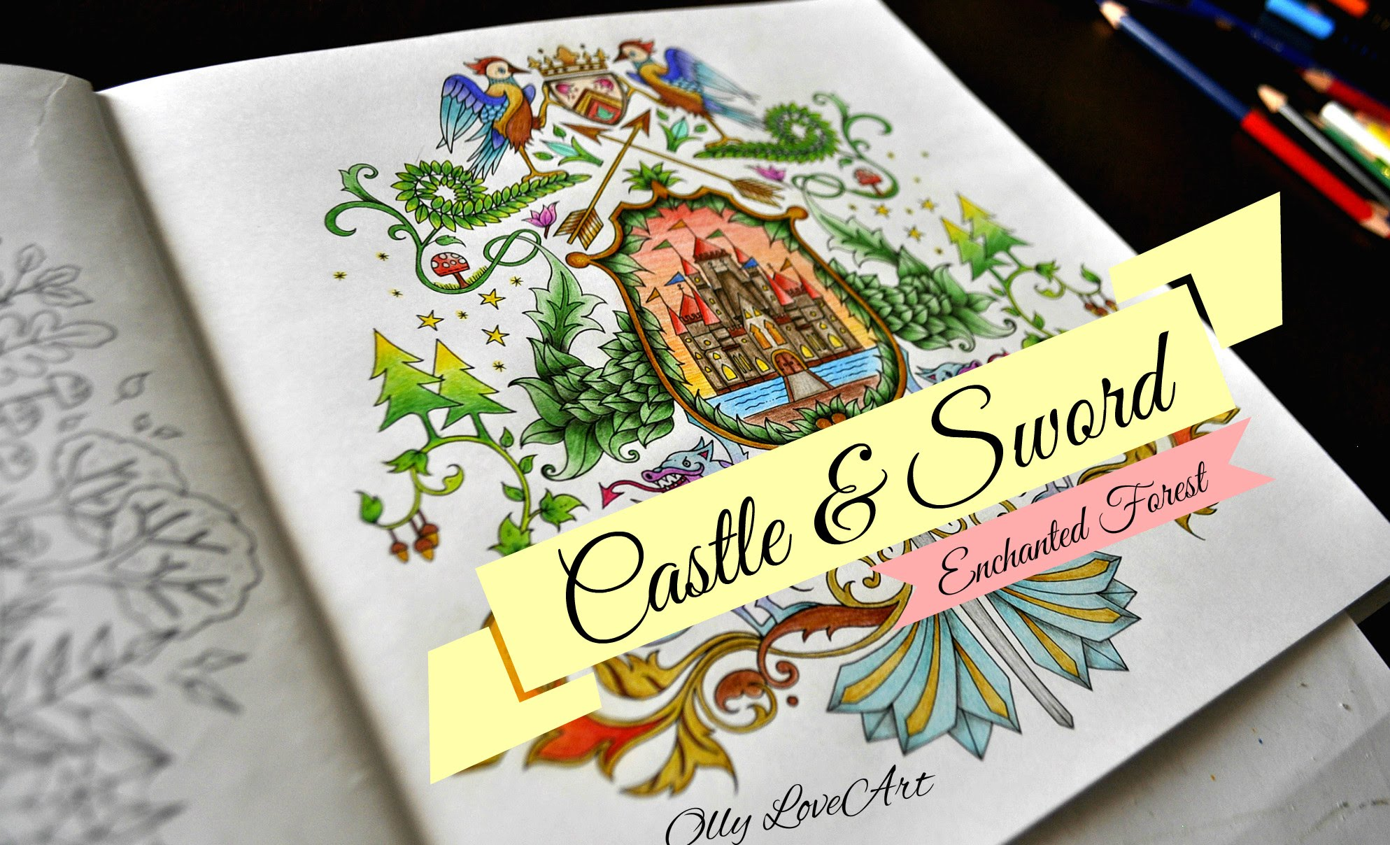 Enchanted Castle coloring #16, Download drawings