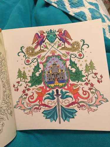 Enchanted Castle coloring #6, Download drawings