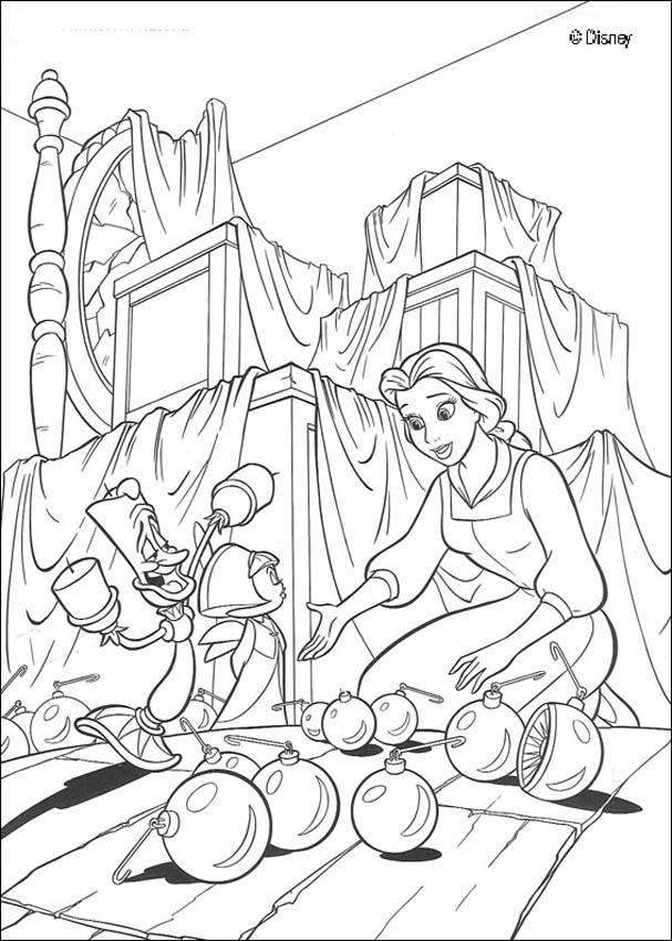 Enchanted Castle coloring #11, Download drawings