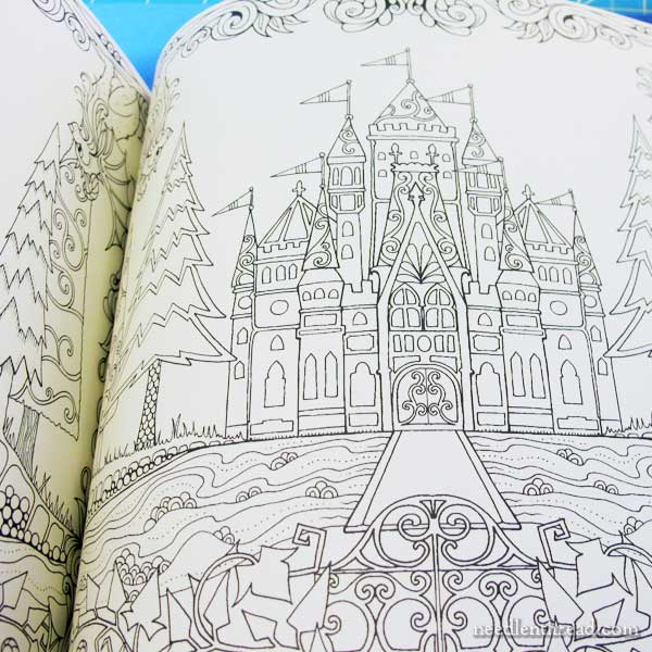 Enchanted Castle coloring #4, Download drawings