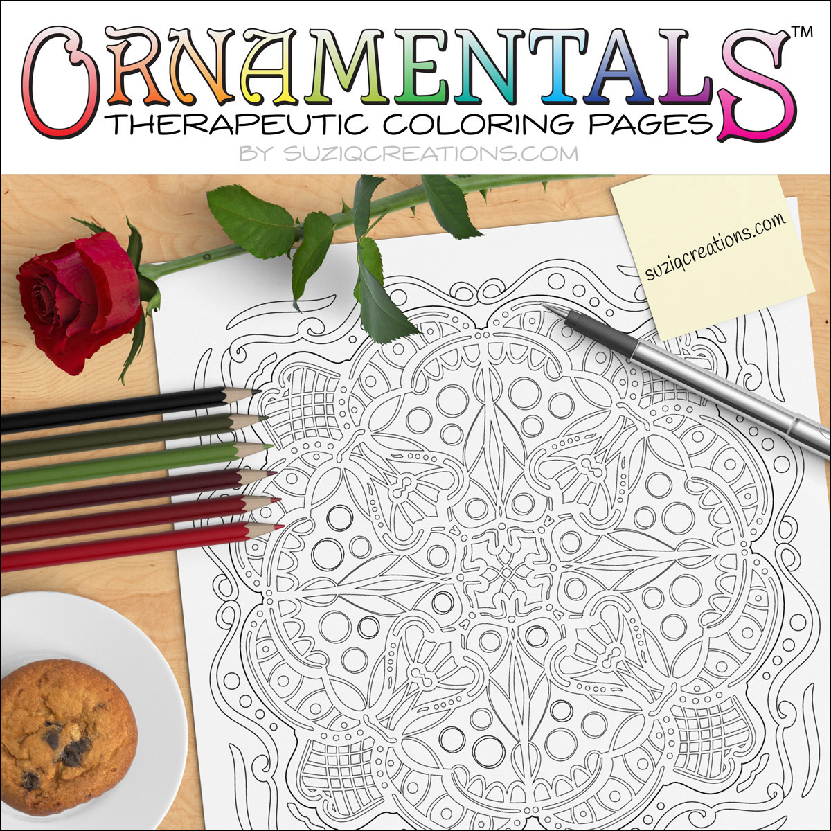 Enchantment coloring #8, Download drawings
