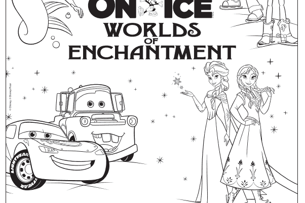 Enchantment coloring #13, Download drawings