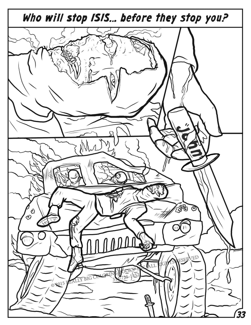 End Of Days coloring #5, Download drawings