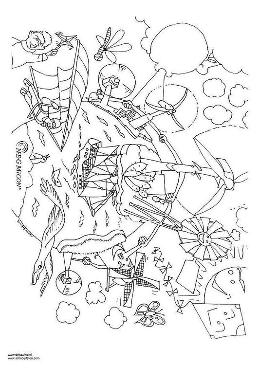 Energy coloring #4, Download drawings