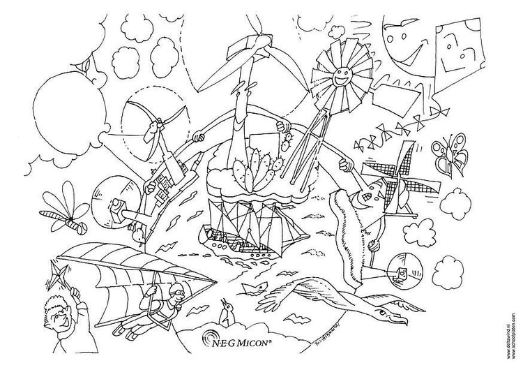 Energy coloring #2, Download drawings