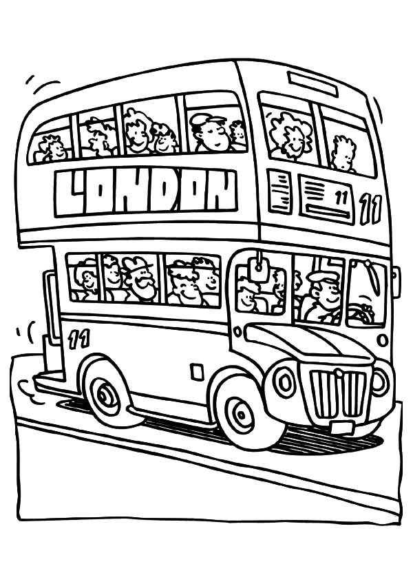 coloring pages on england - photo#9
